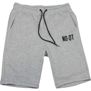 ICONIC FLEECE SHORTS- HEATHER GREY