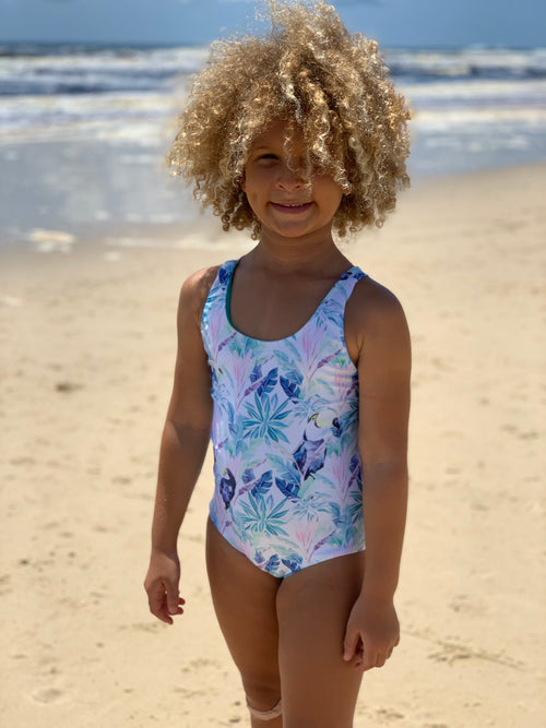 Toucan Beach Reversible One Piece