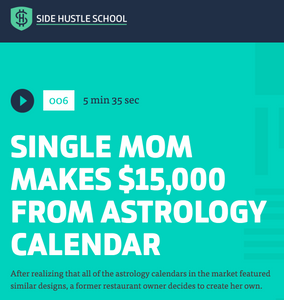 """Side Hustle School"" features Spiral Spectrum"
