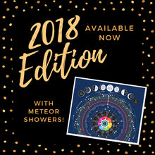 ON SALE! 2017 Cosmic Calendar - North America