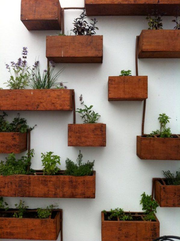 fake vertical garden