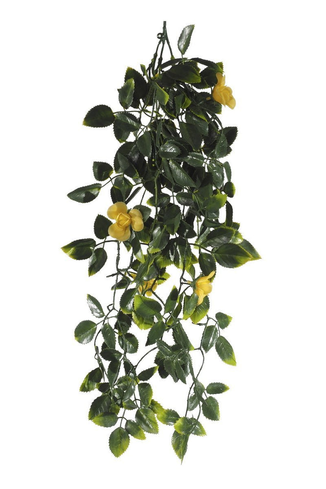 UV Yellow Mixed Hanging Foliage - 60cm - Artificial green walls and fake plants