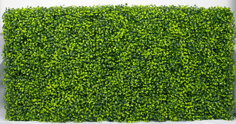 Portable Light Boxwood Hedge - UV stabilised (1m long x 50cm High)