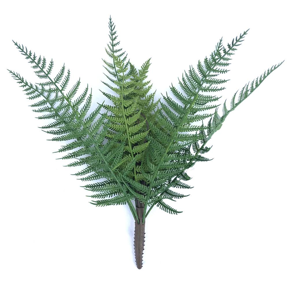 5 Pack - UV Dark Fern Stem 38cm