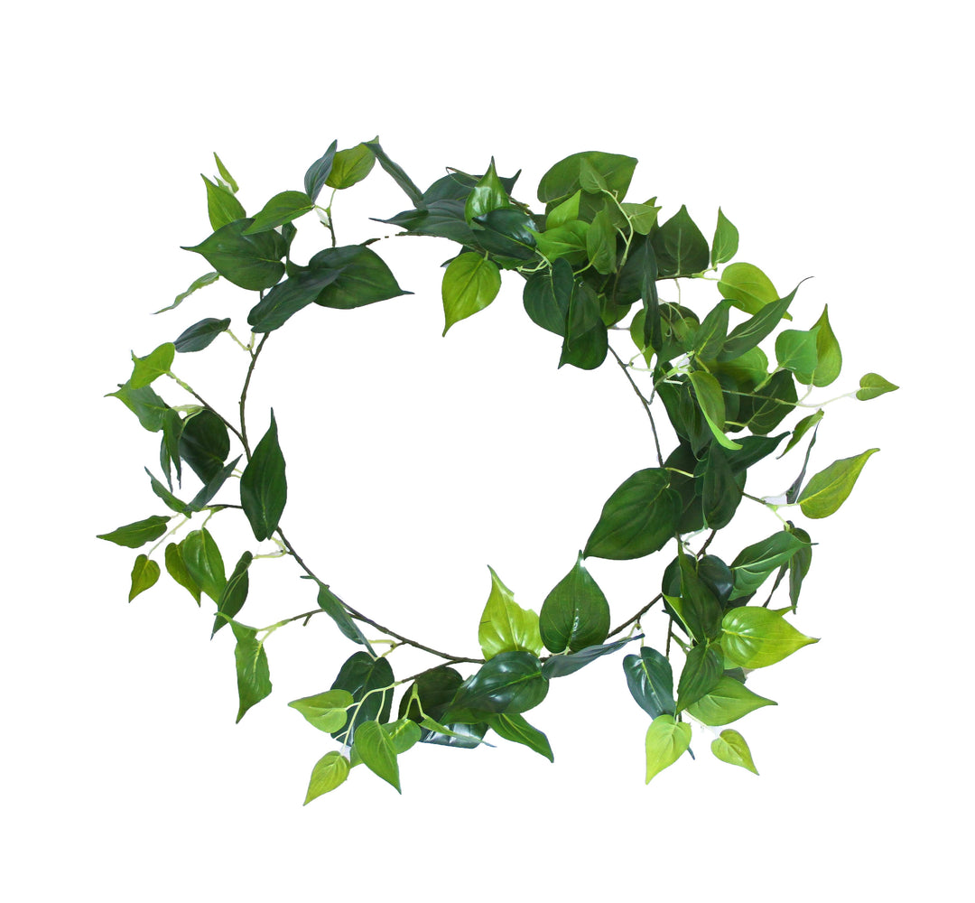 2 Pack - Artificial Money Plant Garland - 190cm