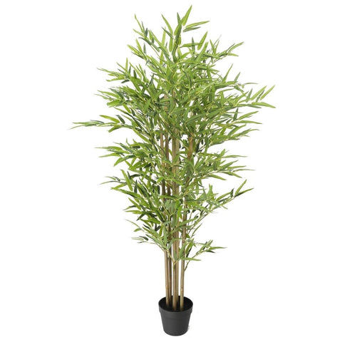 Premium Artificial Bamboo Plant Real Touch Leaves 150cm
