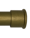 Custom Drapery Rod - End Cap - Brass - 109""
