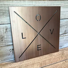 Love X Square - Majesty Metal Art