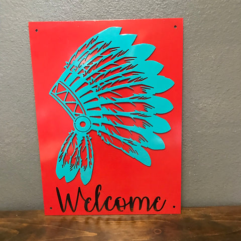 Welcome Indian Headdress