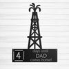 Days Until Dad Comes Home - Oil Rig Land