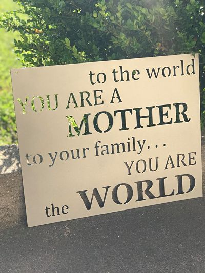 Mother - You Are The World