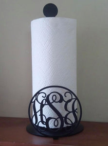 Monogram Paper Towel Holder