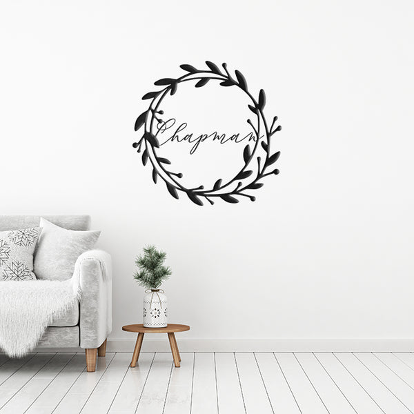 Wreath Monogram