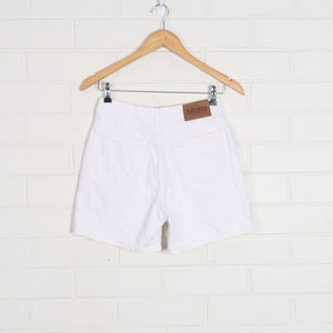NAUTICA White High Waist Denim Shorts