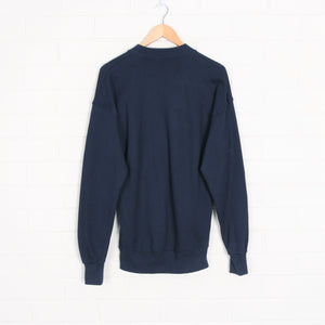 USA Made 50 50 Notre Dame University Navy Sweatshirt
