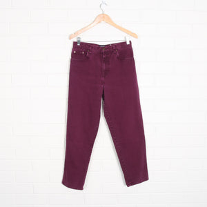 Purple Denim 90s Cut High Waist Jeans