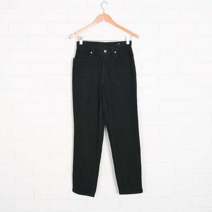 Black FADED GLORY High Waist 90s Cut Jeans