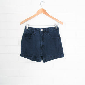 Navy GUESS Denim Shorts USA Made