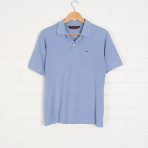 Blue Kappa One Point Polo Shirt