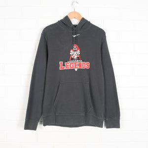 Lancaster Legends NIKE Grey Football Hoodie Sweatshirt