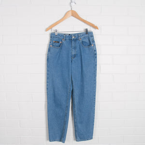 Vintage Women's DKNY Blue High Waist Jeans - Vintage Sole
