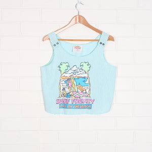 1988 SURF FRENZY Crop Top - Vintage Sole Melbourne