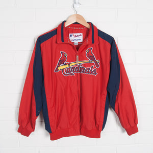 Cardinals Zip Up Embroidered Windbreaker