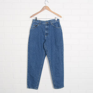Riders High Waist Blue Mommy Jeans
