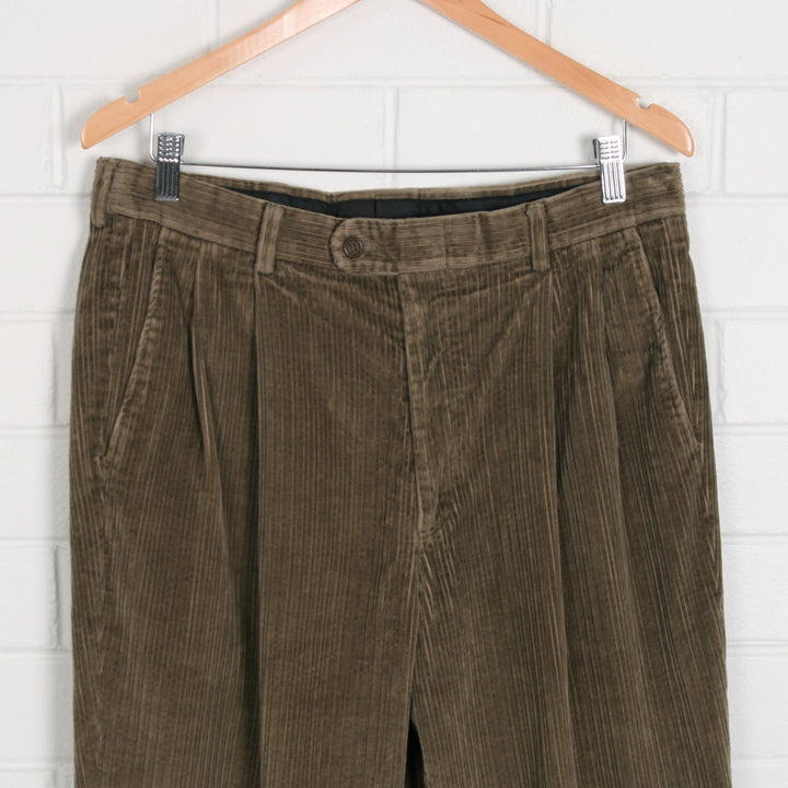 Light Brown Mens Cord Pants 34