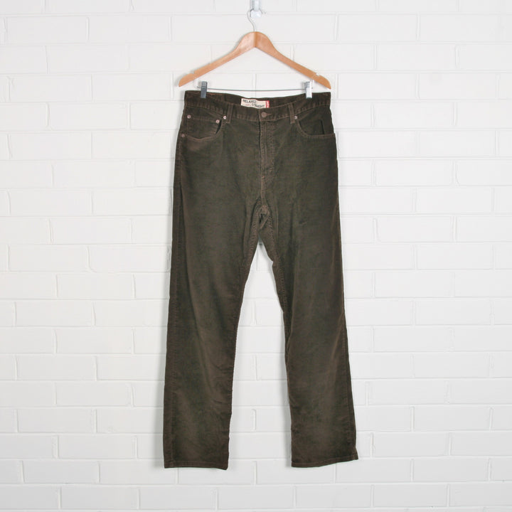 LEVIS Brown Straight Leg Cord Pants
