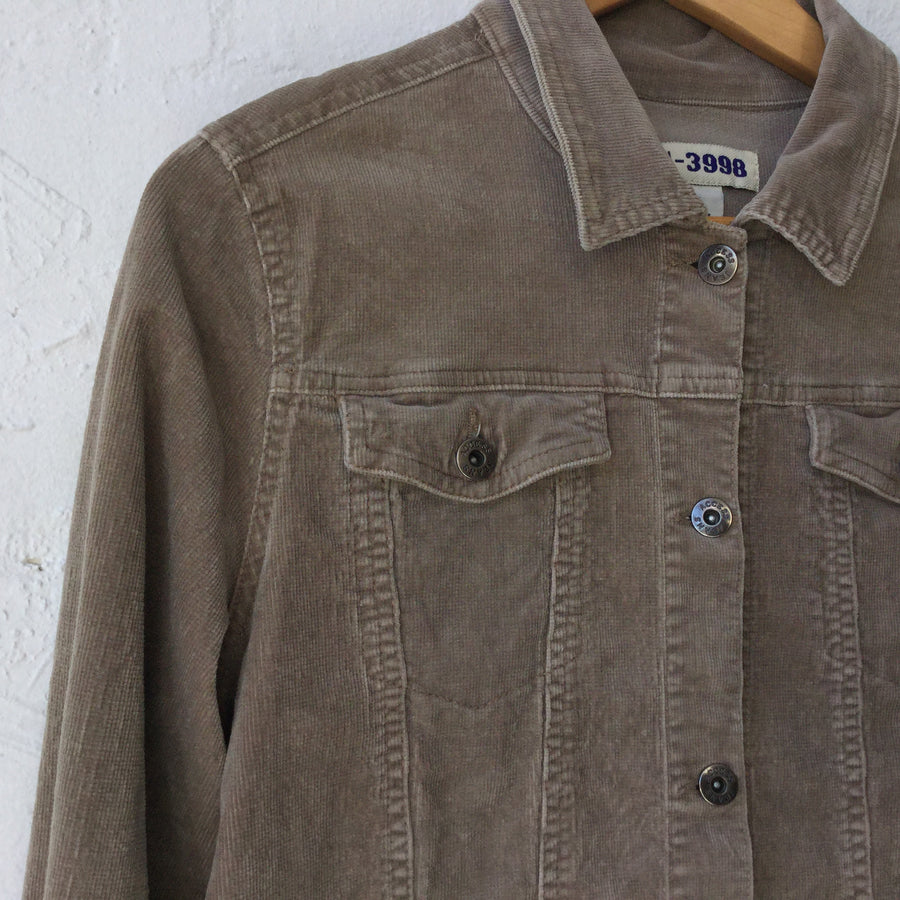 Light Brown Cord Jacket