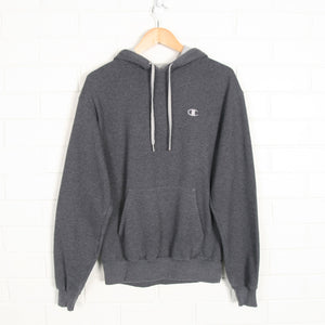 CHAMPION Embroidered One Point Hoodie Sweatshirt