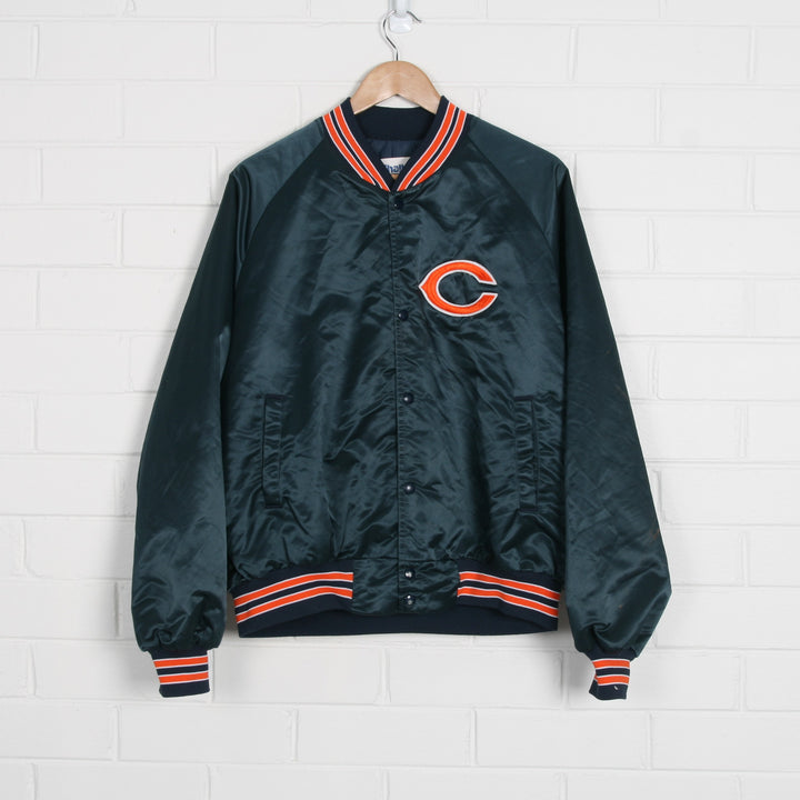 Chicago Cubs USA Made Embroidered Bomber Jacket