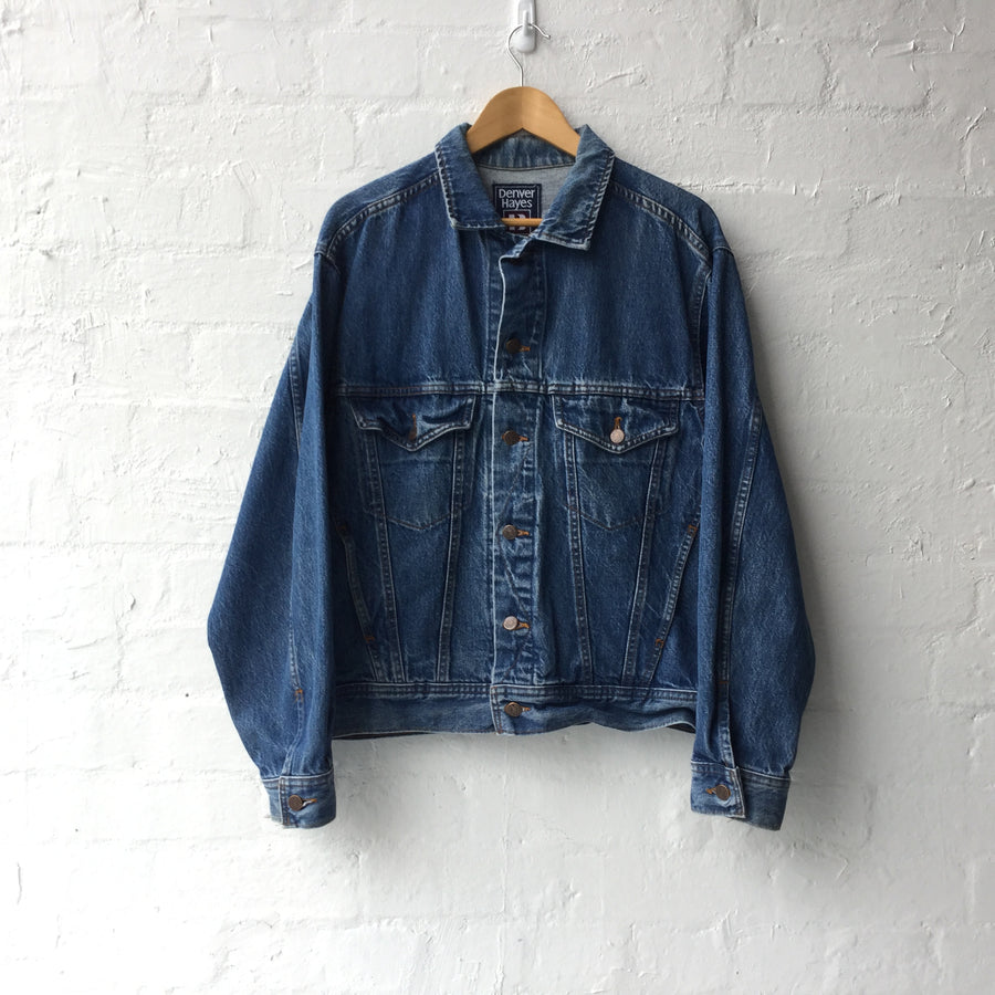 90s Made Canada Denim Jacket