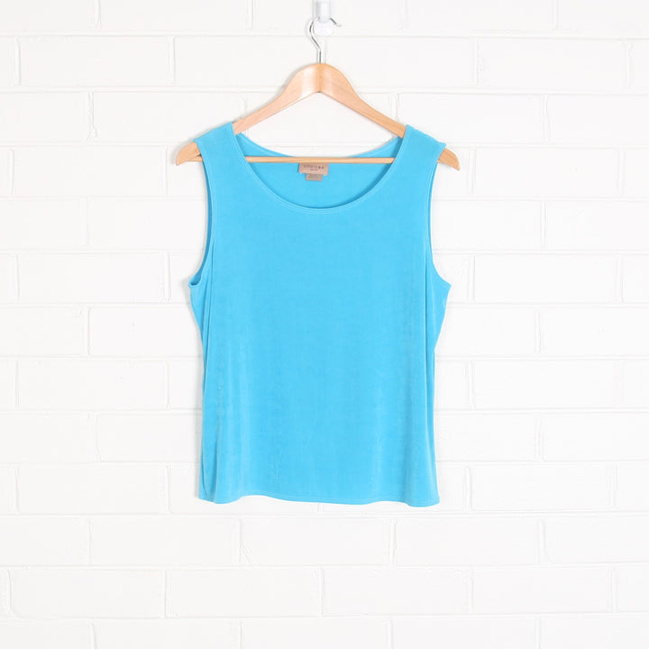 Pastel Blue Made in USA Tank Top