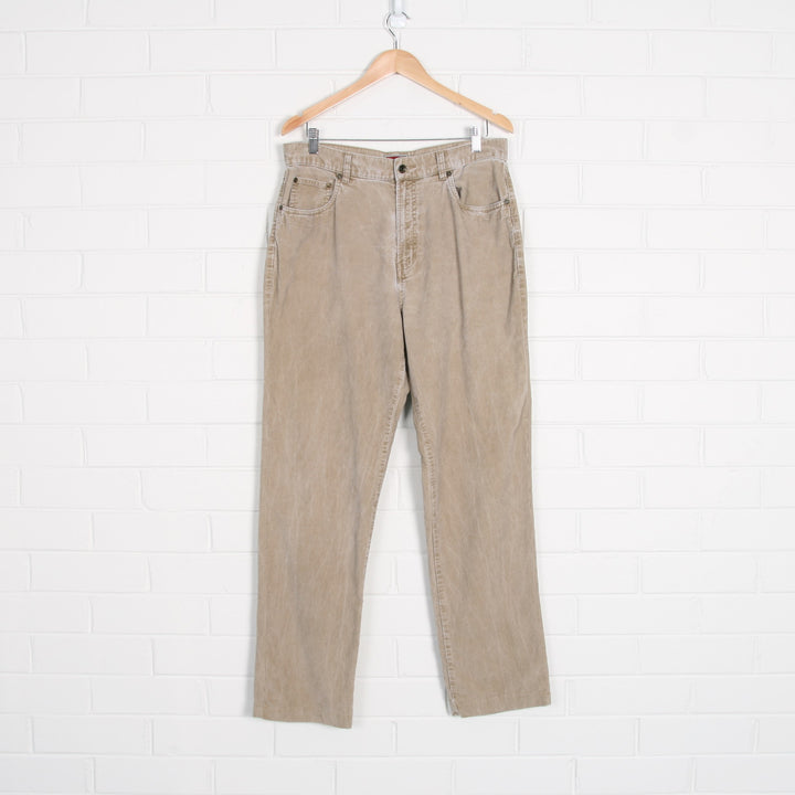 TOMMY HILFIGER Denim High Waist Cord Pants