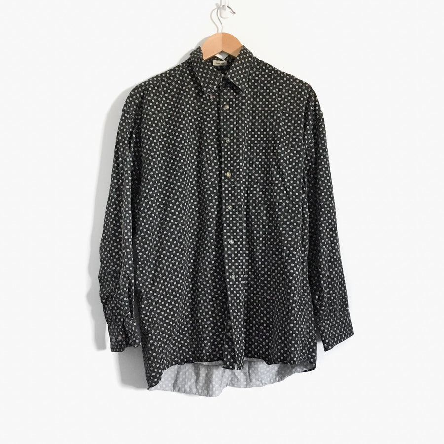 All Over Print Cotton Shirt