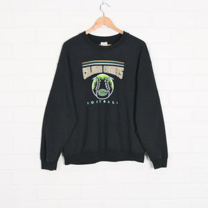 Coloma Comets Softball 50 50 Black Sweatshirt