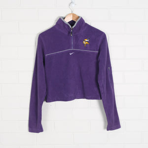 NFL Minnesota Vikings Crop Fleece
