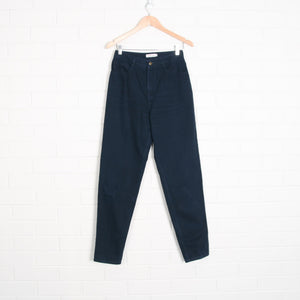 Navy High Waist Jeans Pants