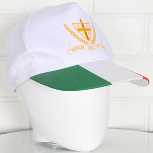 Italian Flag Cap Embroidered Crest Snapback