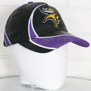 Minnesota Vikings NFL Leather Football Cap