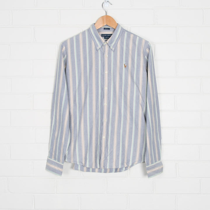 RALPH LAUREN Pastel Stripe Long Sleeve Shirt