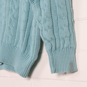 Chunky Crew Neck Knit Jumper - Vintage Sole