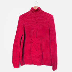 Made in Italy Turtleneck Sweater Knit Jumper - Vintage Sole