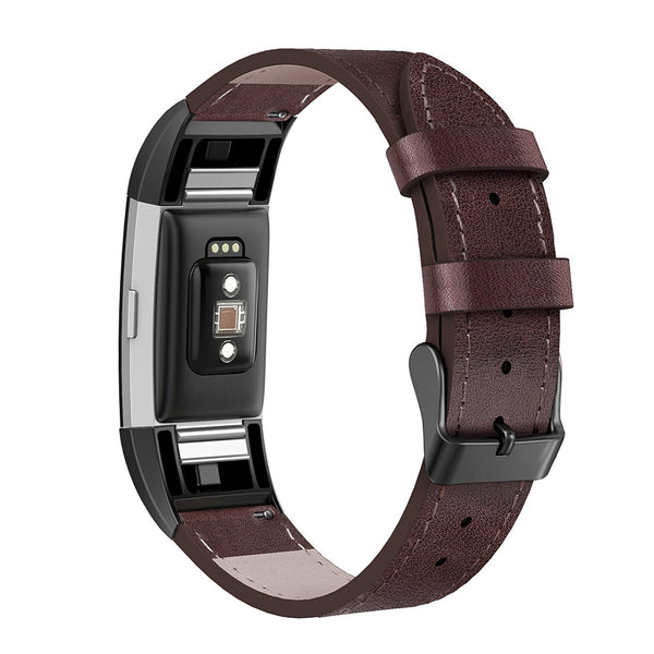 leather fitbit charge 2 bands men