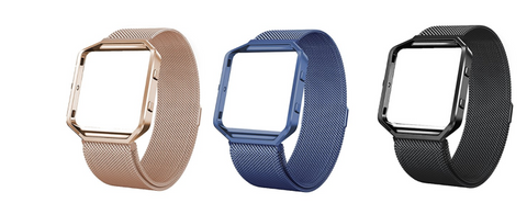 Fitbit Blaze Bands with Frame Metal