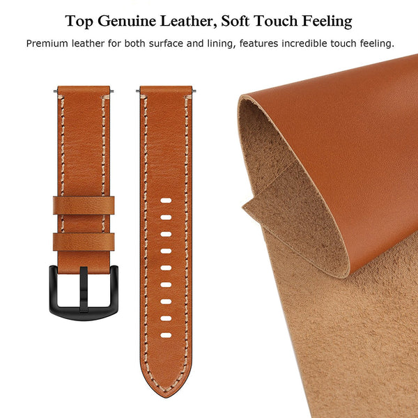 22mm Leather Band