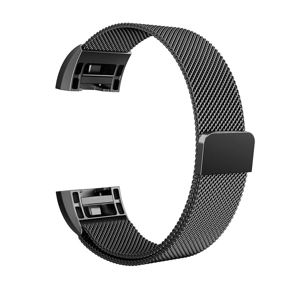 "FITBIT CHARGE 2 BANDS METAL SMALL (5.5"" -8.5""), SWEES MILANESE STAINLESS STEEL MAGNETIC REPLACEMENT WRISTBAND FOR FITBIT CHARGE 2"