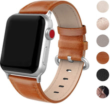 SWEES Leather Band Compatible for Apple Watch 38mm 40mm, Genuine Leather Elegant Strap Compatible with iWatch Series 5/4/3/2/1 Women